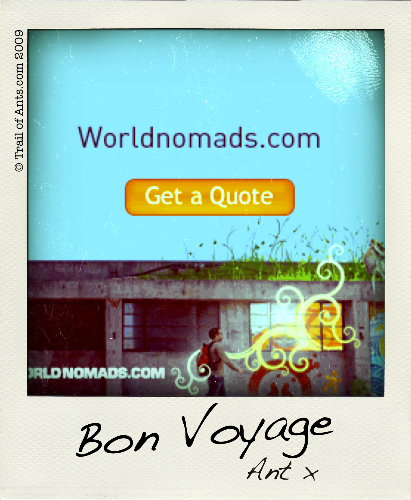 WorldNomads.com Get a quote! Bon Voyage.